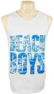 The Beach Boys 70s Surf Rock Tank Top Singlet L