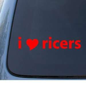 I HEART RICERS   Tuner Sport   Car, Truck, Notebook, Vinyl